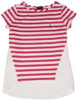 Nautica Little Girls' Striped Pocket Top (2T-7)