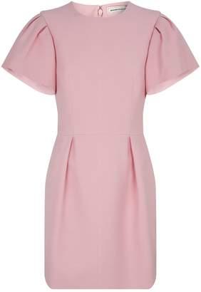 Alexander McQueen Puff-Sleeved Dress