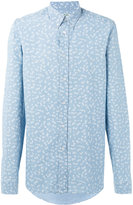 Kenzo printed button-down shirt - men - Cotton - 39