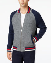 Tommy Hilfiger Men's Benjamin Colorblocked Full-Zip Baseball Sweater
