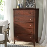 Laurèl Sonja 5 Drawer Chest Foundry Modern Farmhouse Color: Cappuccino
