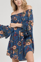 Blu Pepper Off Shoulder Dress