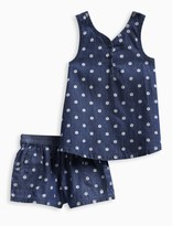 Splendid Little Girl Printed Denim Tank Set