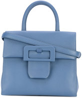 Maison Margiela buckle detail tote - women - Cotton/Goat Skin - One Size