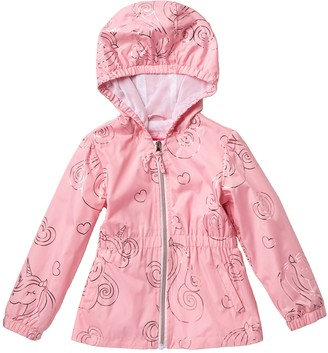 Pink Platinum Unicorn Printed Anorak (Toddler Girls)