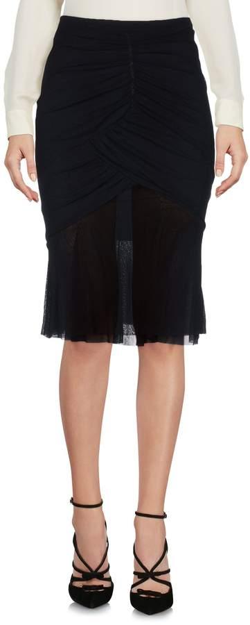 Fuzzi Knee length skirts - Item 35378937LD