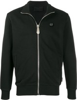 Philipp Plein embellished skull jogging jacket