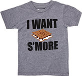 """Little DiLascia """"I Want S'More"""" T-Shirt"""