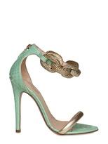 Giambattista Valli 120mm Python & Chain Sandals