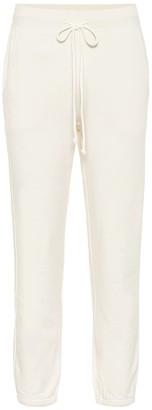 Velvet Daphne cotton-jersey trackpants