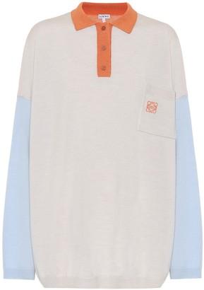 Loewe Oversized wool shirt