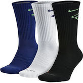 Nike 3-pk. Dri-FIT Fly Crew Socks-Big & Tall