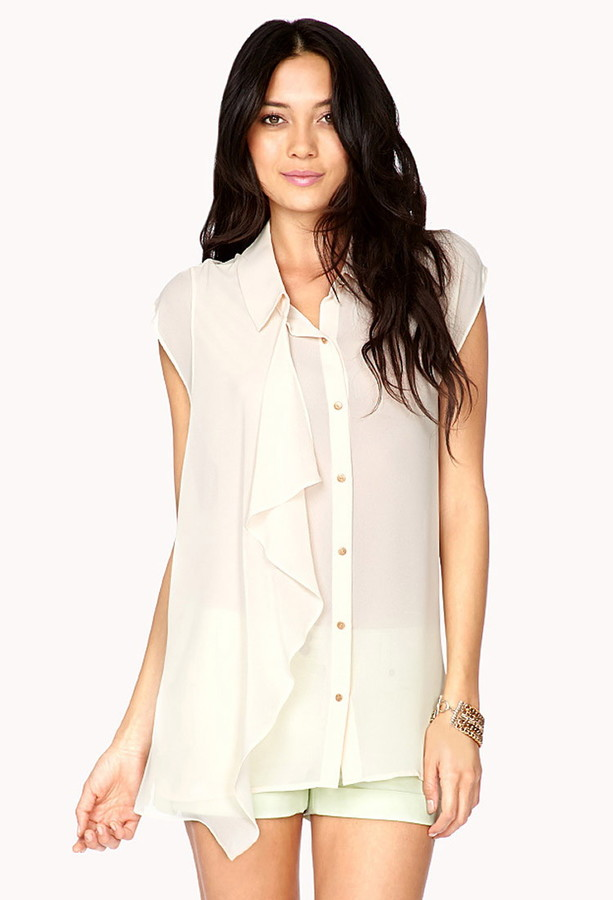 Forever 21 Dreamy Georgette Tunic