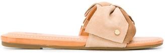 UGG Bow Strap Sliders