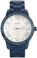 GUESS GUESS? W0444L4 -Tone Mother-of-Pearl Dial Glits Women's Watch