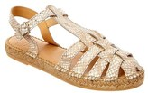 Andre Assous Leather Espadrille.