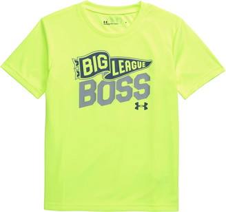 Under Armour Big League Boss Performance Graphic Tee
