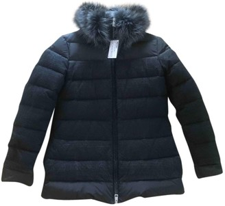 Fendi Black Fur Coat for Women