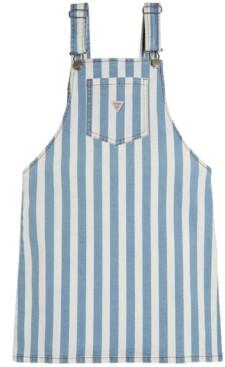 GUESS Big Girls Striped Denim Skirtalls