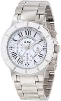 A Line a_Line Women's 20106DV Marina Chronograph Textured Dial Watch