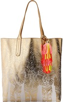 Lilly Pulitzer Reversible Shopper Tote Tote Handbags