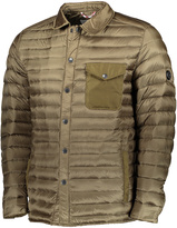 Ben Sherman Olive Spread-Collar Puffer Coat