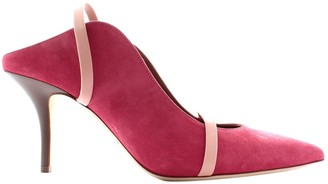 Malone Souliers Maureen Pink Suede Sandals