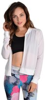 Jala Clothing Mesh Bomber Jacket 8113952784