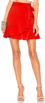 by the way. Patricia Ruffle Wrap Skirt