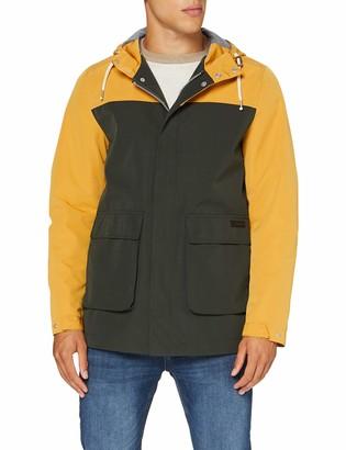 Springfield Men's 3ip-Parka Block Col-c/25 Track Jacket