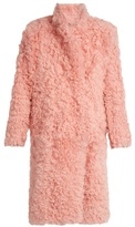 Preen by Thornton Bregazzi Candy curly-shearling coat