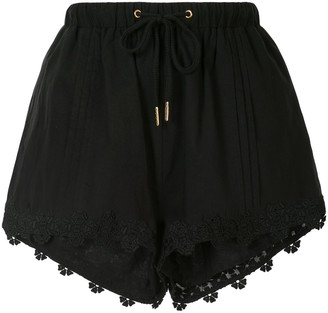 We Are Kindred Beatrix embroidered shorts