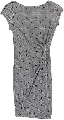 Love...Ady Plaid Twist Front Dress