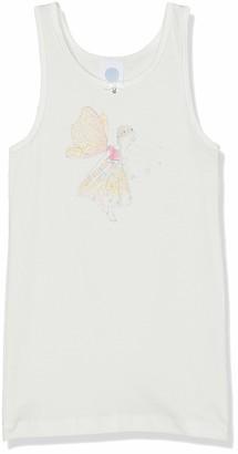 Sanetta Girls' Shirt w/o Sleeves w.Print Undershirt