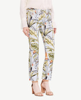Ann Taylor The Petite Crop Pant in Tropic Print - Kate Fit