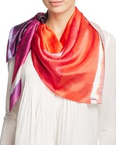 Echo Paint Cans Silk Square Scarf