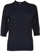 Zanone Three Quarter Sleeve Sweater