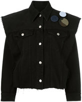 MM6 MAISON MARGIELA detachable sleeve denim jacket