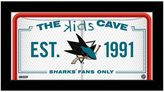 "Steiner Sports San Jose Sharks 10"" x 20"" Kids Cave Sign"