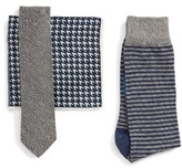 The Tie Bar Men's Tie, Pocket Square & Sock Style Box