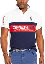Polo Ralph Lauren Classic-Fit Pieced Mesh Polo Short Sleeved Mesh