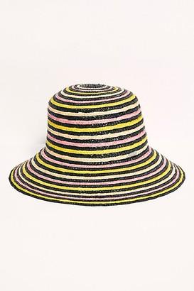 Free People Fiesta Stripe Straw Hat