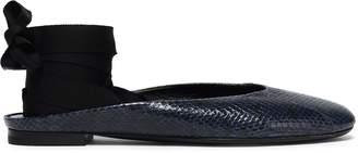 Michael Kors Snakeskin Slippers