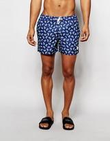 NATIVE YOUTH Kiwi Print Swim Shorts