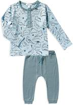 Angel Dear Boys' Dino Henley Shirt & Joggers Set