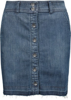 Splendid Cesaire stretch-denim mini skirt
