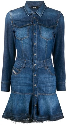 Diesel Joana denim mini dress
