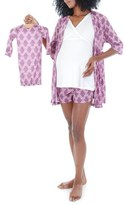 Everly Grey Women's 'Daphne - During & After' 5-Piece Maternity Sleepwear Set