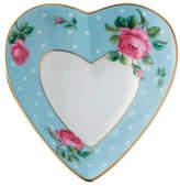 Royal Albert Polka Blue Heart Tray