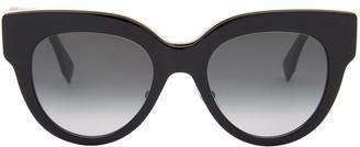 Fendi Eyewear Oversized Round Frame Sunglasses